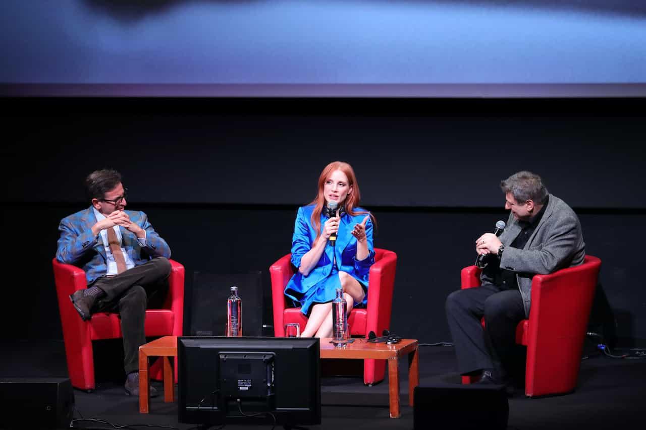 Jessica Chastain, incontro ravvicinato con i fan (Getty Images)