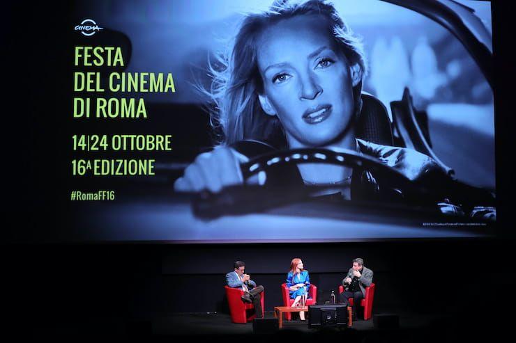 L'interprete statunitense alla Festa del Cinema di Roma (Getty Images)