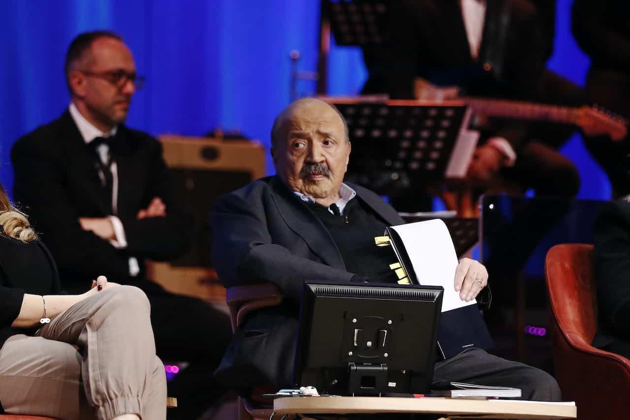 Maurizio Costanzo torna su Canale 5 (Getty Images)