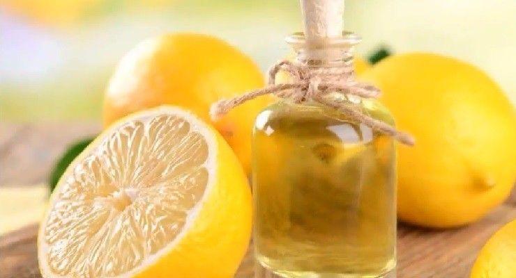 preparare Olio essenziale al limone