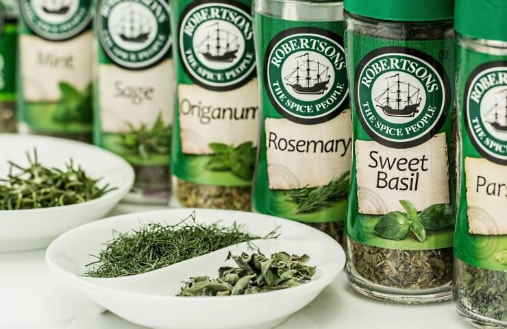 congelare erbe aromatiche