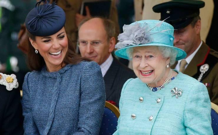 Kate e la Regina