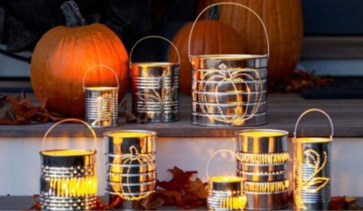 lanterne fai da te halloween