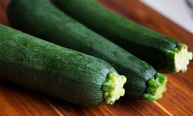 zucchine per torta salata